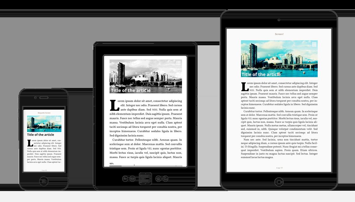 Figure 3.10. Illustration de la liquidité du livre numérique au format EPUB. Image issue du site L'ebook redistribuable de Jiminy Panoz (https://jaypanoz.github.io/reflow/).